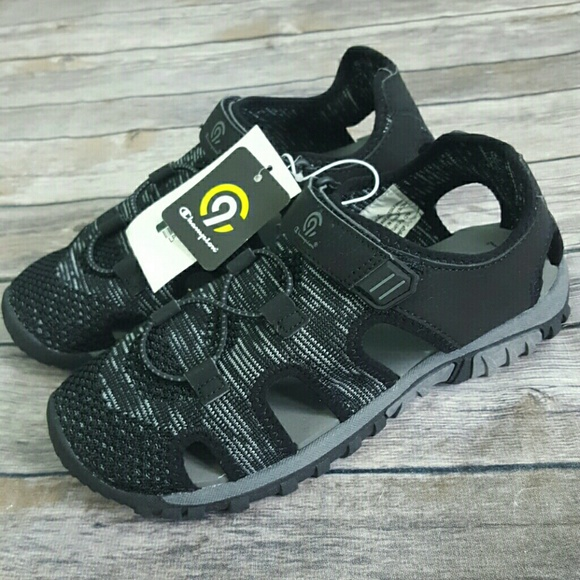 Champion Other - C9 Champion Kids Boys Black Hyde Hiking Sandals
